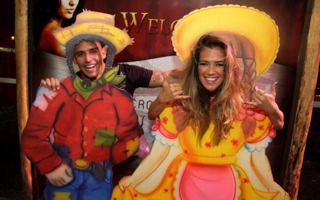 Fani Pacheco e André