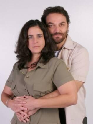 Lúcia Veressimo e Licurgo Spinola