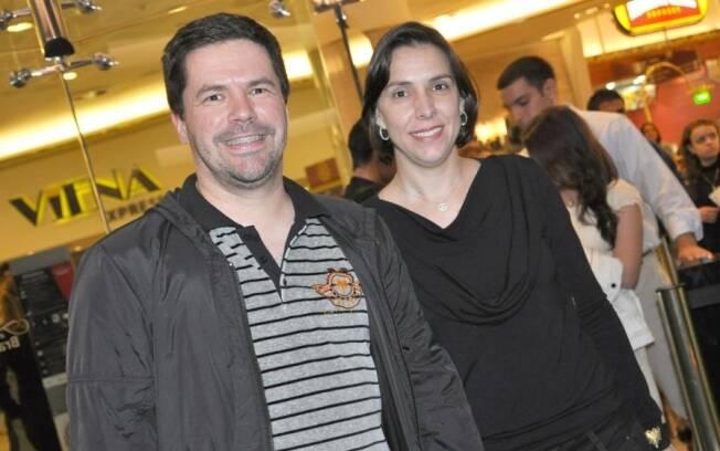 Pedro Mariano e a mulher, Patrícia Fano: