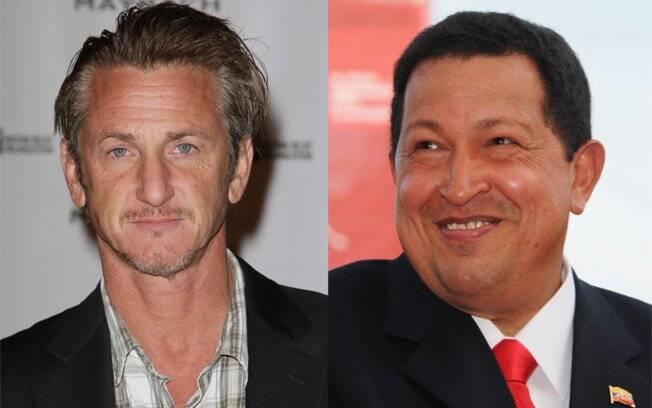 Sean Penn e Hugo Chávez planejam trabalho em conjunto no Haiti