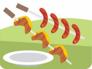 Carne mal-passada: vetada, pelo risco de toxoplasmose
