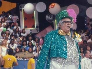 Chacrinha foi um dos maiores animadores de auditório do Brasil