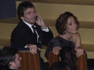 Uma das últimas aparições públicas do casal foi em 31 de maio, no Grande Prêmio do Cinema Brasileiro