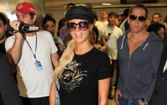 Paris Hilton no Brasil