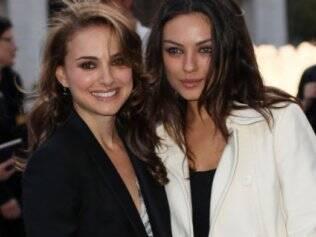 Natalie Portman e Mila Kunis: companheiras de sapatilhas em