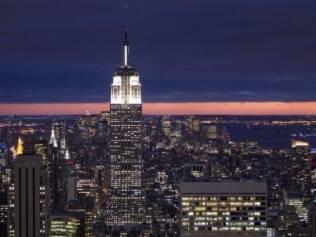 The Empire State Building, símbolo da riqueza do Estado de Nova York