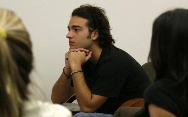 Humberto Carrão: um dos alunos mais atentos