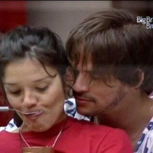 Rodrigo e Talula namoraram depois do almoço