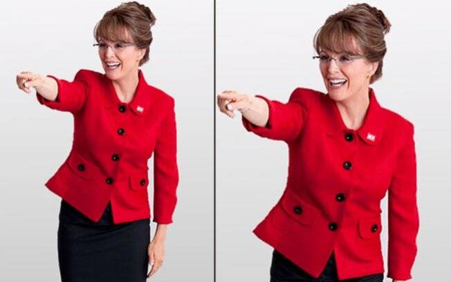 Juliane Moore transformada em Sarah Palin