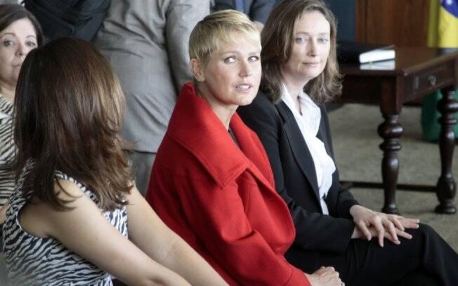Xuxa em debate sobre a lei de proteção das crianças e adolescentes