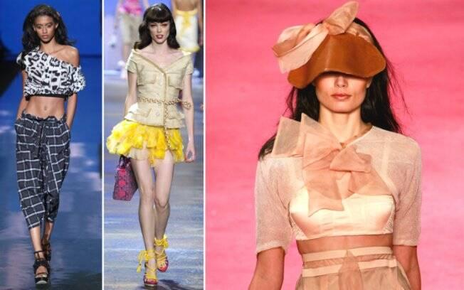 Desfiles pelo mundo: Nova york (L.A.M.B), Paris (Christian Dior) e Rio de Janeiro (Espaco Fashion)