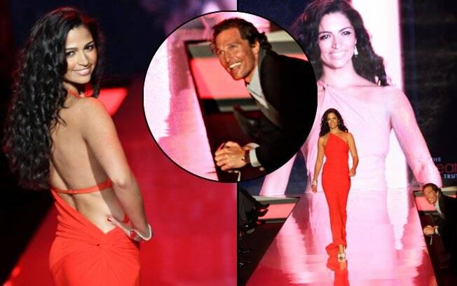 Camila Alves: sob o olhar amoroso de Matthew McConaughey