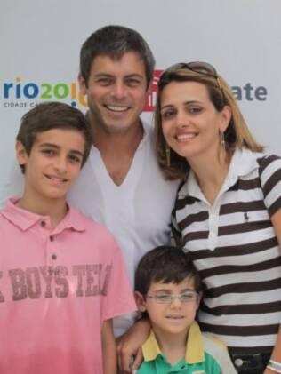Luigi Baricelli e Andréia Baricelli: viagem para Orlando e curso de inglês