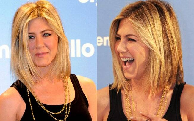 Jennifer Aniston de visual novo