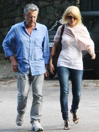 Marcos Paulo e Antonia Fontenelle