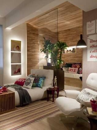 Uma boa dica para decorar ambientes pequenos é usar cores claras