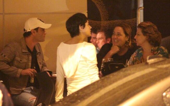 Claudia Jimenez, Betty Lago e Rodrigo Phavanello