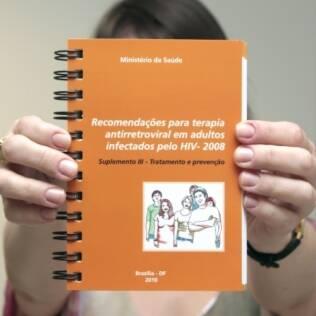 Cartilha lançada que estabelece as diretrizes do coquetel do dia seguinte da aids