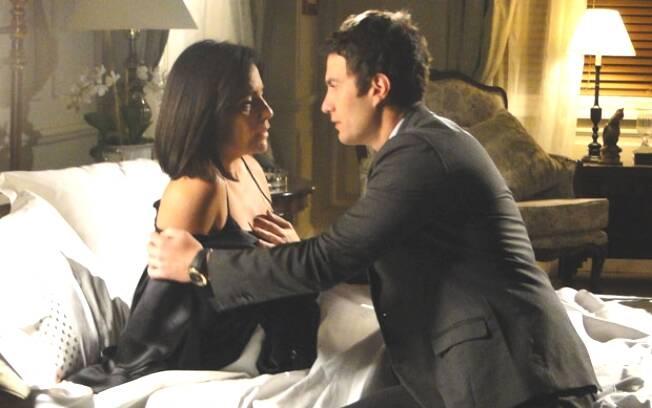 Léo se aproxima de Norma e começa a seduzi-la no sonho da auxiliar de enfermagem