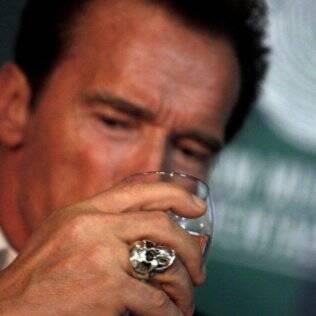 Arnold Schwarzenegger no Fórum Mundial de Sustentabilidade
