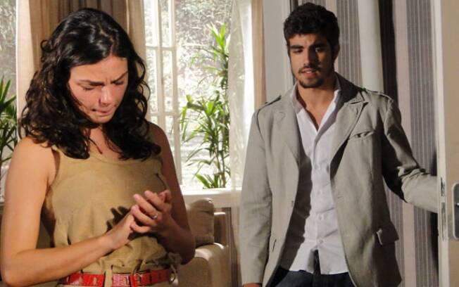 Edgar fica arrasado com resposta de Marcela
