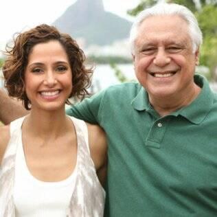 Carol e Raul, o novo casal do horário nobre