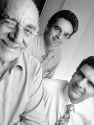 Gian Carlo Gasperini, Luiz Felipe Aflalo Herman e Roberto Claudio dos Santos Aflalo Filho