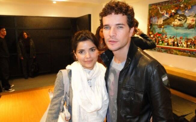 Daniel de Oliveira e Vanesa Giácomo