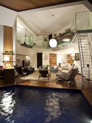 A arquiteta Maricy Borges defende a integração da casa com espaços de lazer
