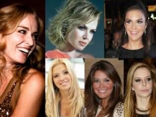 Angélica, Eliana, Ivete,Patrícia, Chiara e Astrid
