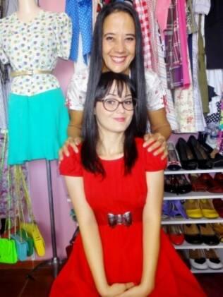 A mãe é musa para as criações da estilista Leila Bastos