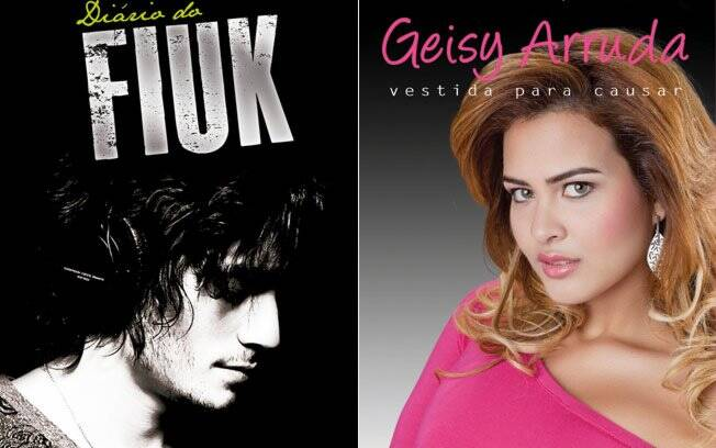 Capas de Fiuk e Geisy
