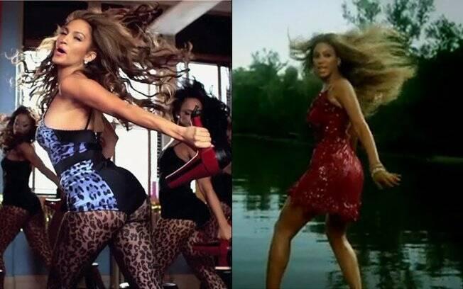 Jennifer Lopez e Beyoncé: idênticas