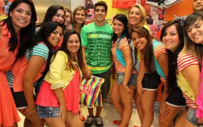 Caio Castro e o sucesso entre as meninas