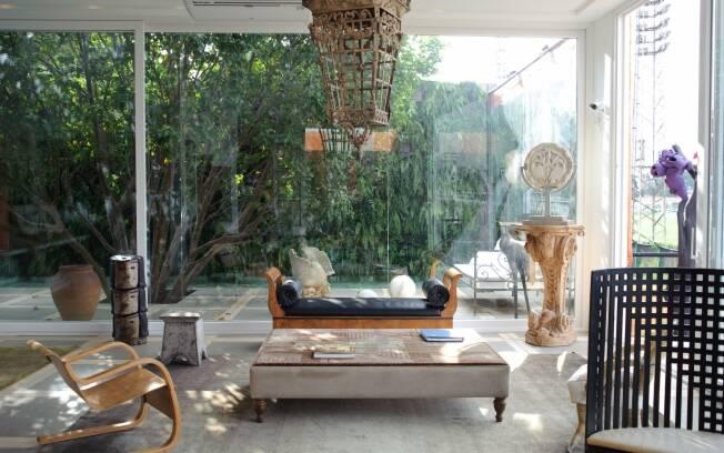 Ambiente criado por Ugo di Pace fio um dos premiados da Casa Cor 2010