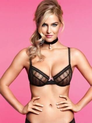Bar Refaeli posou para campanha de lingerie