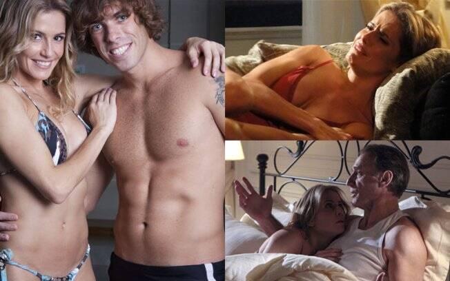 Curvas, biquíni e roupas íntimas exploram o lado sexy de Natalie Lamour