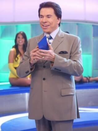 No comando do Programa Silvio Santos