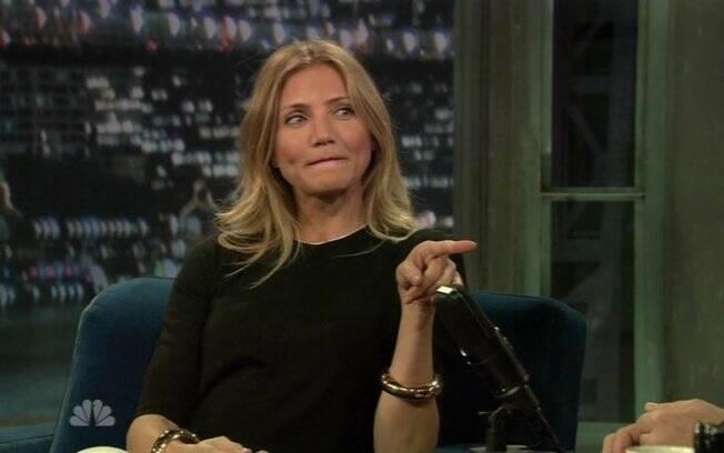 Cameron Diaz revela para David Letterman que ama Alex Rodrigues