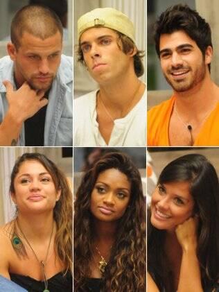 Diogo, Maurício e Rodrigão de um lado, Maria, Jaqueline e Talula do outro. Quem é melhor?