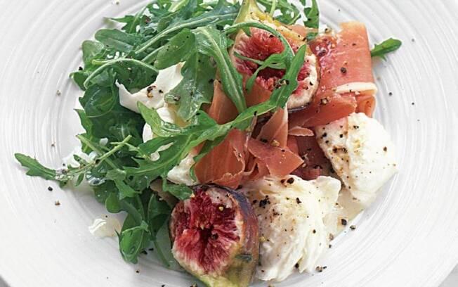 Salada de presunto de Parma