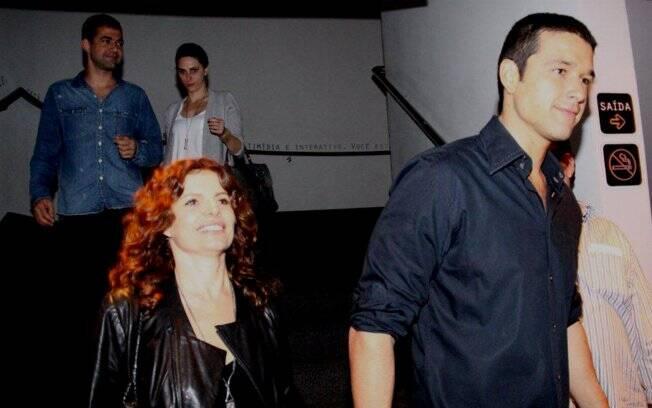 Sérgio Marone e Débora Bloch