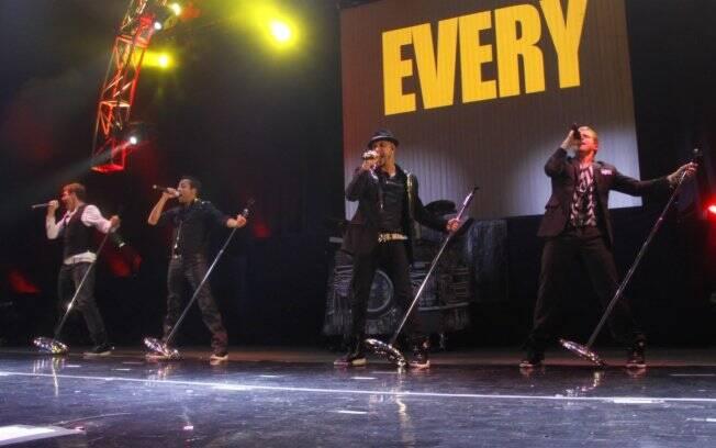 Backstreet Boys está no país para turnê em várias cidades brasileiras
