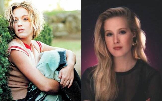 Katy Perry e Dita Von Teese eram loiras antes da fama...
