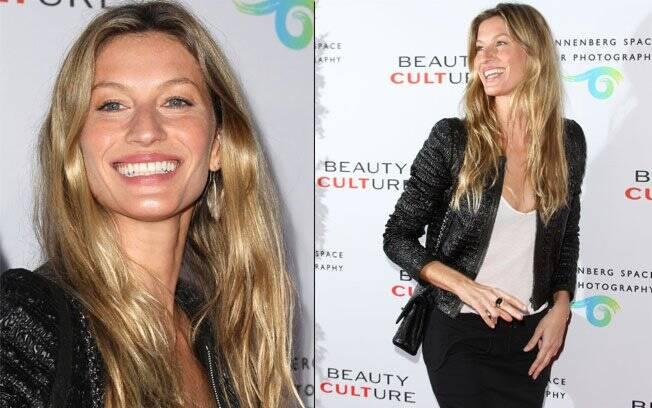 Gisele Bündchen vai ao evento sem o marido Tom Brady e o filho Benjamin