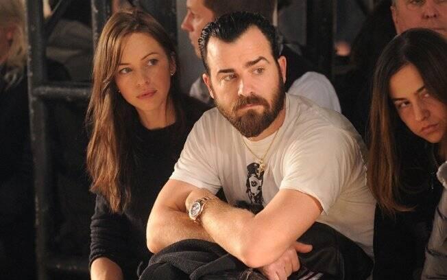 O ex-casal Heidi Bivens e Justin Theroux