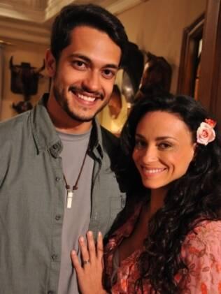 Suzana Pires e Raphael Viana