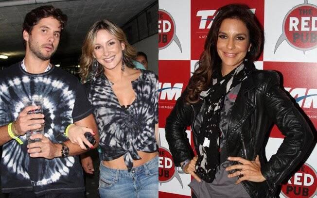 Claudia Leitte levou o marido Márcio Pedreira e deixou a barriga a mostra para reforçar que não está grávida; Ivete Sangalo exibe visual rock'n roll com jaqueta de couro