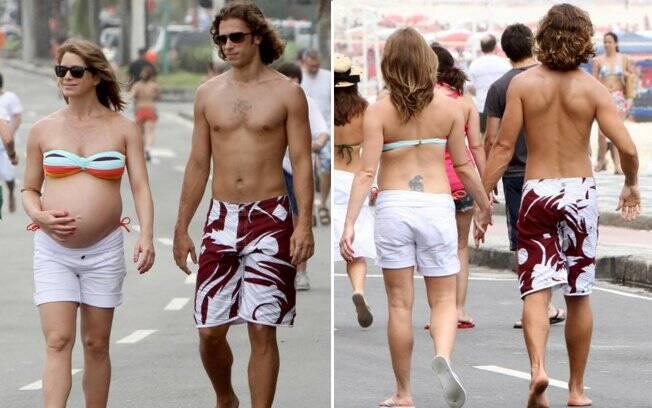 Letícia Spiller e o namorado, Lucas Loureiro