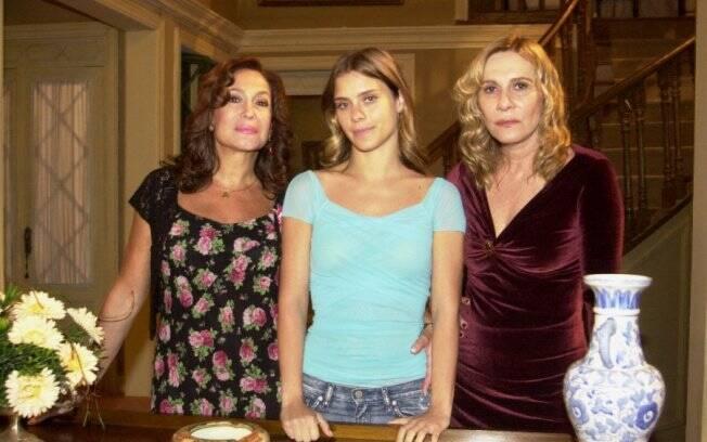 Susana Vieira, Carolina Dieckmann e Renata Sorrah em